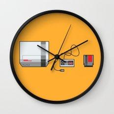 #38 Nintendo Entertainment System Wall Clock