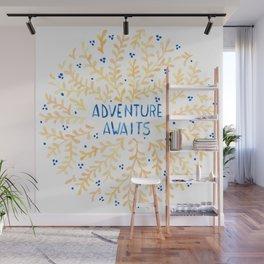 Adventure Awaits Wall Mural