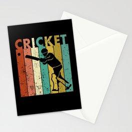 Cricket Bowler Bat Cricketer Gift Stationery Cards