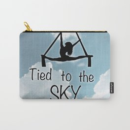 """Aeiralist """"Tied to the Sky"""" Graphic Carry-All Pouch"""