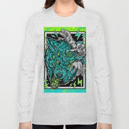 Wolf Snarl Long Sleeve T-shirt