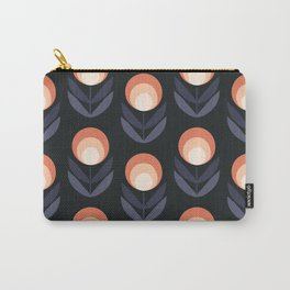 Mod Rose Pattern Carry-All Pouch