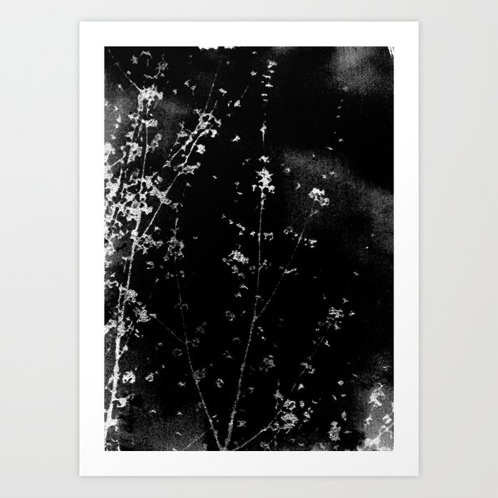 Scattered Darkly Art Print