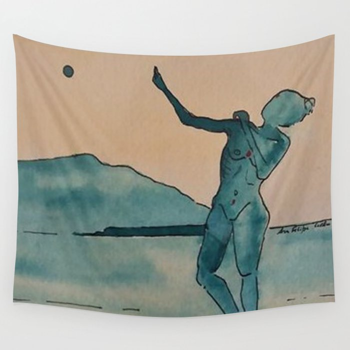 Moon Dance Wall Tapestry