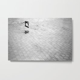 Miki / Switch Kickflip / Barcelona Metal Print