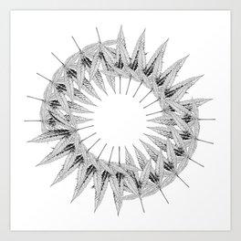 Circle Game Art Print