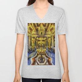 Vincent Van Gogh Palace Unisex V-Neck