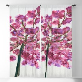 Cherrytree in Spring Blackout Curtain