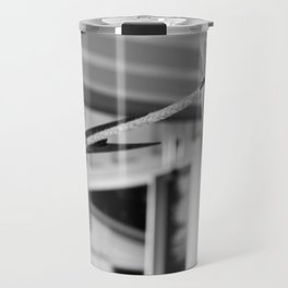Clothespins on a Line Travel Mug