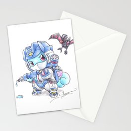 On a Certain Wave Stationery Cards