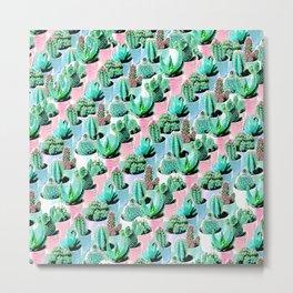 Terra cacti Metal Print