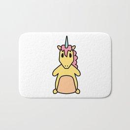 Fat Unicorn Bath Mat