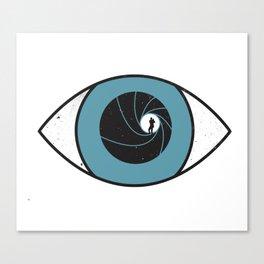 eye spy Canvas Print