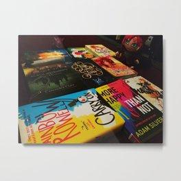 Books & Manga Metal Print