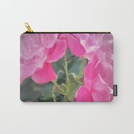 Iced Blossoms Carry-All Pouch