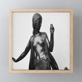 Fawns Framed Mini Art Print