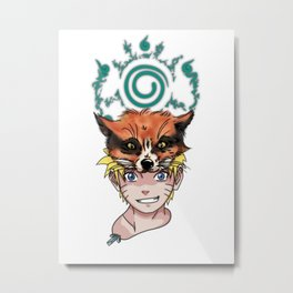 Naruto Metal Print