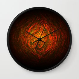Knotty Wood Work 01 Wall Clock