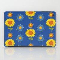 ukraine iPad Cases featuring Sunflowers of Ukraine by rusanovska