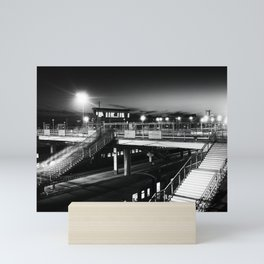 Novosibirsk - Main railway station. Mini Art Print