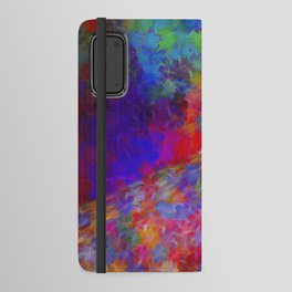 Floral Avenue Android Wallet Case