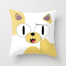 CAKE THE CAT Throw Pillow