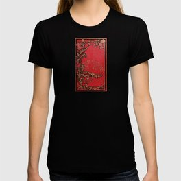 Red and Gold Thistles T-shirt