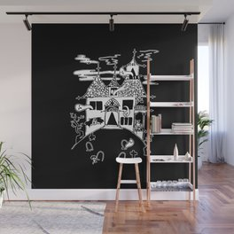 ▴ haunted house ▴ Wall Mural