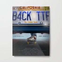 Back To The Future - Bruin Metal Print
