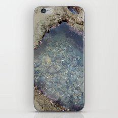 the heart shaped tide pool  iPhone & iPod Skin