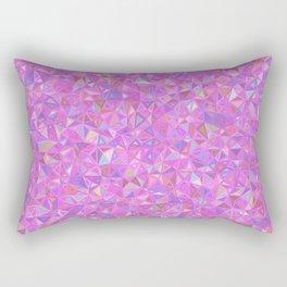 Purple Shards of Life Rectangular Pillow