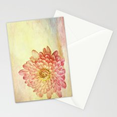 Textured Birthday Flower  Stationery Cards