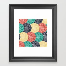 Flower Infusion 2 Framed Art Print