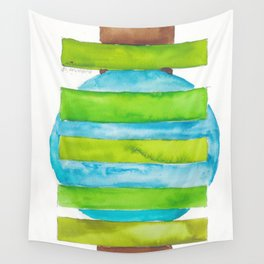 180818 Geometrical Watercolour 5 Wall Tapestry