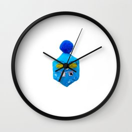 ice flake cube Wall Clock
