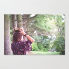 Bookish 02 Canvas Print