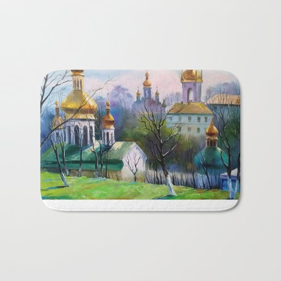 Holy Dormition Kiev-Pechersk Lavra Bath Mat