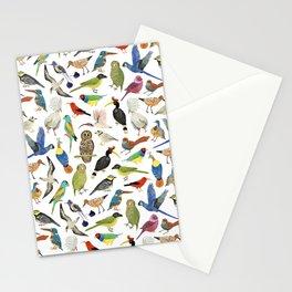 Endangered Birds Around the World Stationery Cards
