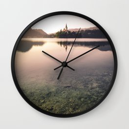 Lake of Dreams Wall Clock
