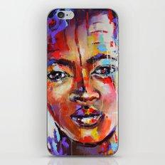 Closer - portrait of a beautiful woman iPhone & iPod Skin