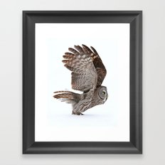 Proceed to runway for take off Framed Art Print