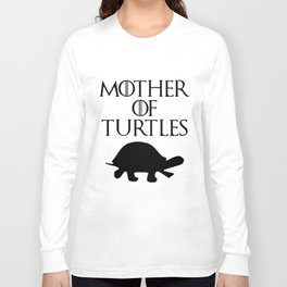 mother of turtles sloth t-shirts Long Sleeve T-shirt