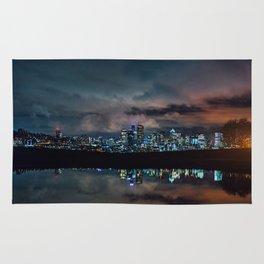 Seattle Skyline Rug