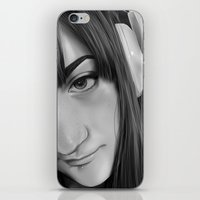 gamer iPhone & iPod Skins featuring Gamer by Anais.Lalovi