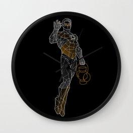 Polygreen Wall Clock