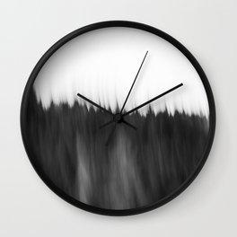 Zeitgefluester NO2 Wall Clock