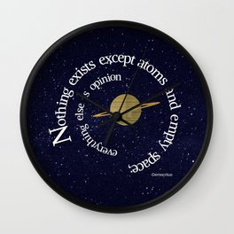 Nothing Exists Wall Clock