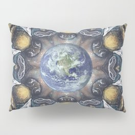 Keepers of the Garden // Bee Beehive Earth Environmentalist Ecology Garden Organic Honey Insect Pillow Sham