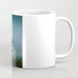 Blue Heron Misty Morning Coffee Mug