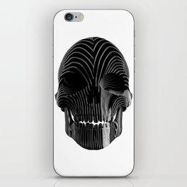 Skull Stripes 2 iPhone Skin